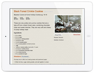 Cook Recipes Tablet